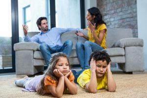 effetti della separazione sui bambini